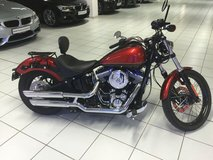 2013 Harley Davidson Softail Custom FXS Blackline in Hohenfels, Germany