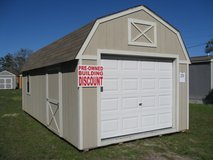 12x24 Lofted Garage Storage Building Shed DISCOUNTED!! in Moody AFB, Georgia