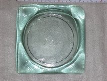 Unusual color sq. glass ashtray in Glendale Heights, Illinois