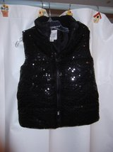 SEQUIN VEST NEW in Cherry Point, North Carolina