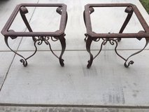 Iron steel tables in Camp Pendleton, California