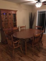 Price Reduced - Maple Dining Set in Tinley Park, Illinois