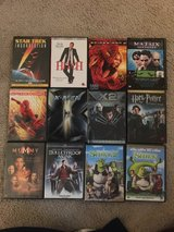 Lots of DVDs in Lockport, Illinois