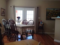 Wood table and 6 chairs in Lawton, Oklahoma