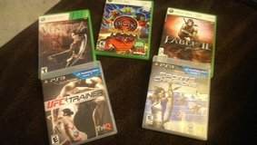 video games x box 360 & ps3 games in 29 Palms, California