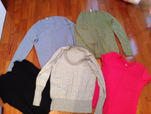 Maternitelty sweater lot one green and one blue from Old Navy in Yongsan, South Korea
