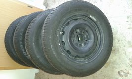 winther tires plus steel wheels in Hohenfels, Germany