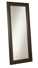 "ABBYSON FULL LENGTH LEATHER/WOOD MIRROR 70""L NEW in Columbus, Georgia"