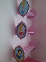 Disney Princess 3-piece Staggered Shelves in New Lenox, Illinois