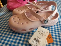 BTS Big Girls Crocs 2/4 NWT Gift-able! in Aurora, Illinois