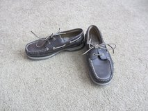 Boys Boat Shoes size 3 Like New in Bolingbrook, Illinois