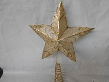 Gold Star Tree Topper in Kingwood, Texas