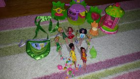 lot of thinkerbell's dolls and toys in Wilmington, North Carolina