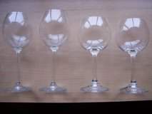 German Wine Glasses (4) in Ramstein, Germany