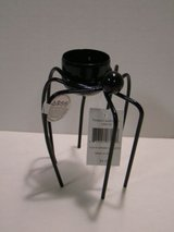 "NEW! Yankee Candle Halloween 5"" BLACK SPIDER Tea Light Holder in Bartlett, Illinois"