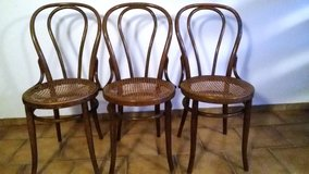 """2 old brown """"Thonet"""" chairs in Baumholder, GE"""