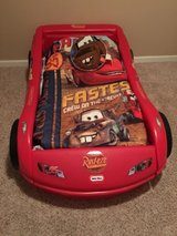 CARS Toddler bed in Clarksville, Tennessee