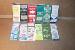 33 DRUG STORE RELATED MATCHBOOKS in Bartlett, Illinois