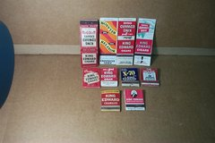 40  SMOKING RELATED MATCHBOOKS in Bartlett, Illinois