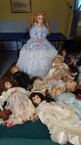 Porcelain Doll Lot in Camp Lejeune, North Carolina
