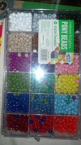 Lot of hair beads in Beaufort, South Carolina