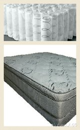 Wow! Huge! KING Mattress Set! New! Pocket Coils. This mattress has it all!! in Temecula, California