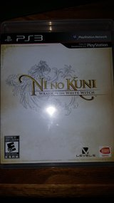 Ni No Kuni: Wrath of the White Witch Rare PS3 game in Fort Leonard Wood, Missouri