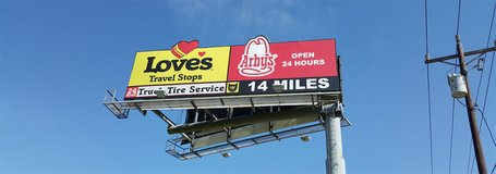 Available Billboard Advertising (Cleveland, Conroe, The Woodlands) in Houston, Texas