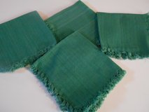 "4 Linen Napkins Forest Green 15 x 15"" in Phoenix, Arizona"