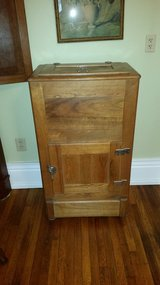 solid oak icebox in Fort Knox, Kentucky