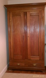 Solid Walnut Wardrobe in Fort Knox, Kentucky