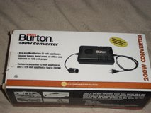 Burton 200 W converter in Fort Campbell, Kentucky