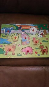 Wood Farm Animal Puzzle in Fort Campbell, Kentucky
