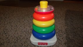Fisher Price stacking rings in Fort Carson, Colorado
