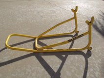 Motorcycle swing arm stand in Alamogordo, New Mexico