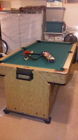 air hockey / pool table in St. Charles, Illinois