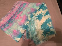 American Eagle Palm Tree Scarf in Beaufort, South Carolina