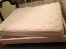 Kingkoil plushtop queensize mattress/boxspring/bedframe in MacDill AFB, FL
