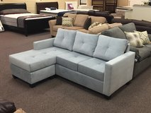 NEW Grey Sofa Sectional in Beaufort, South Carolina