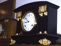 """Antique """"Sessions"""" Mantel Clock (Made in the USA in the 1890s). in Ramstein, Germany"""