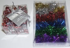 CHRISTMAS SCATTER TABLETOP DECORATIONS x2 CONTAINERS in Lakenheath, UK