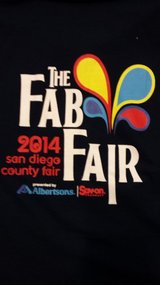 2014 SAN DIEGO COUNTY FAIR SHIRT  LADIES  -NEW NO TAG-  (Size XL) in Okinawa, Japan