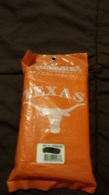 TEXAS LONGHORNS HOODED RAIN PONCHO in Okinawa, Japan