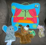 Manhattan Toy Puppettos Finger Puppet Theater Stage + Hand Puppets in Kingwood, Texas