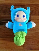 Baby/Toddler  Playskool Blue Lullaby Gloworm Toy for infants and older. in Byron, Georgia