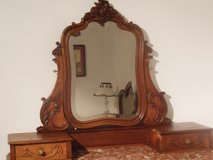 French Louis XV Carved Dresser with Mirror in Ramstein, Germany