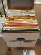 2 Boxes of Sewing Patterns in Houston, Texas