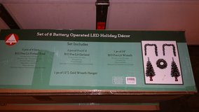 LED Lit Holiday Home Decor in Fort Carson, Colorado