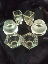 3 Actually 4 Sets Of Candle Holders in San Angelo, Texas