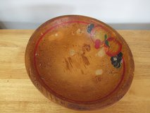 Vintage Wooden Bowl in Sandwich, Illinois